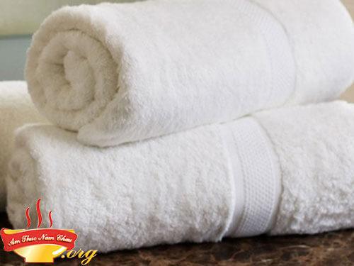 Khăn bông cotton sạch hút ẩm khử mùi hiệu quả cho tủ lạnh