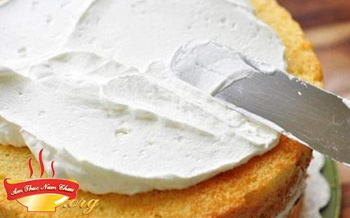 Hoàn thành bánh kem (gato)