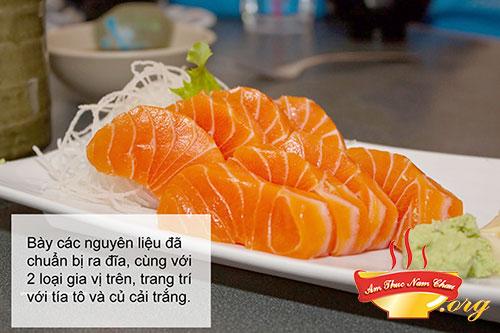 Hoàn thành Sashimi