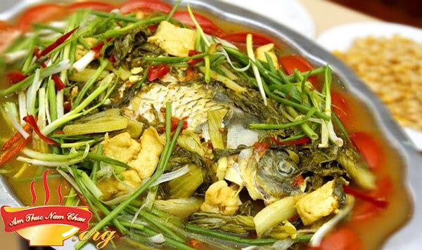 Cách nấu món cá chép om dưa thơm ngon như ngoài hàng