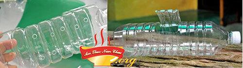 Chuẩn bị chai nhựa