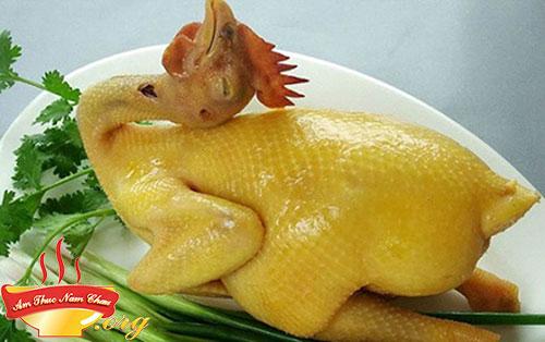 Hoàn thành luộc gà