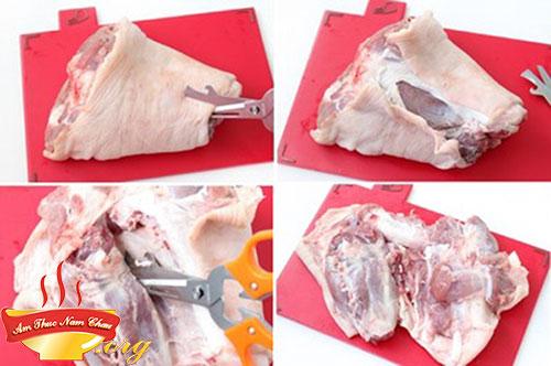 Lựa chọn thịt chân giò để luộc