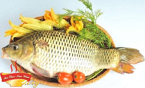 Nguyên liệu nấu canh cá