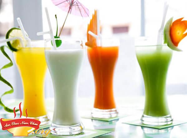 Cách làm sinh tố hoa quả ngon mát ngay tại nhà