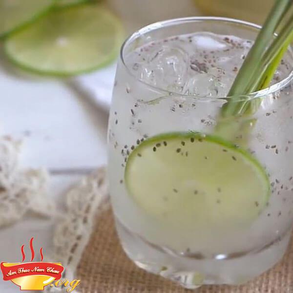 Cách pha nước chanh sả thơm mát lạnh
