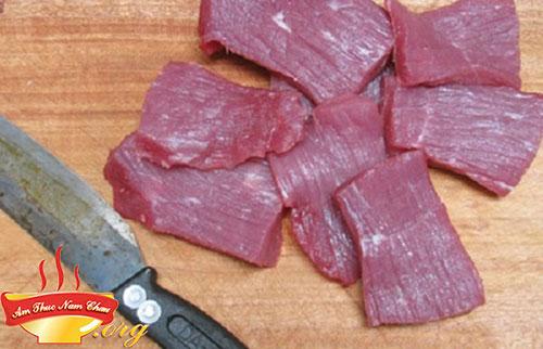 Cách làm thịt bò khô tại nhà