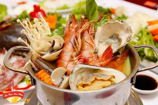 Cách nấu lẩu hải sản thơm ngon hấp dẫn tại nhà