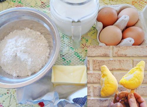 Nguyên liệu làm Bánh Crepe Sầu Riêng thơm ngon