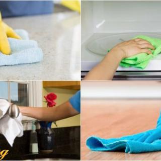 Mách bạn mẹo hay làm sạch đồ dùng nhà bếp