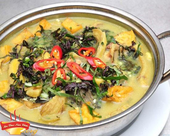 Cách làm ốc nấu chuối đậu thơm ngon khó cưỡng cho ngày mưa