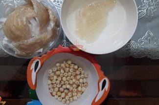 Cách làm tổ Yến chưng đường phèn hạt sen bồi bổ sức khỏe, dưỡng nhan